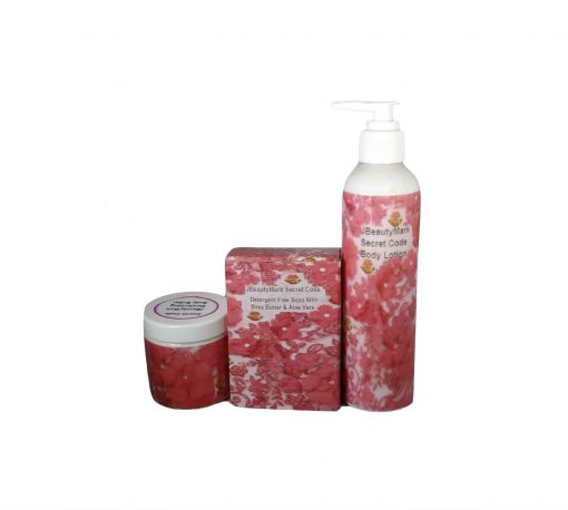 SECRET CODE- SOAP BUTTER AND LOTION