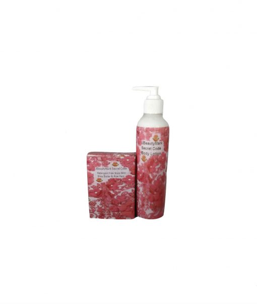 SECRET CODE- SOAP AND LOTION