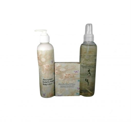 Butterfly Mist Soap and Lotion Set